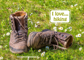 I love...hiking