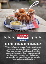 Famous Dutch Food - Bitterballen