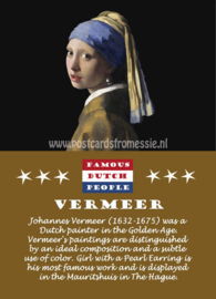 Famous Dutch People - Vermeer