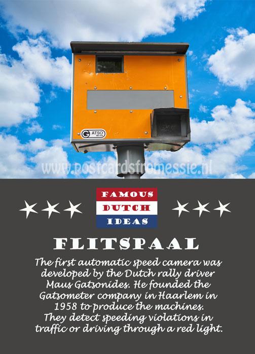 Famous Dutch Ideas - Flitspaal