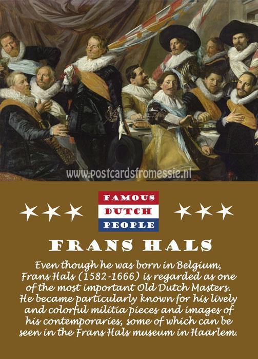 Famous Dutch People - Frans Hals