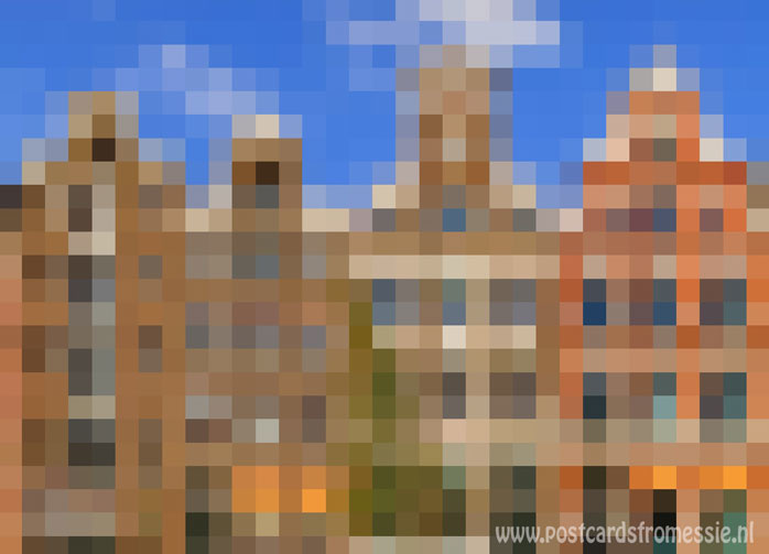Pixel art - Amsterdam