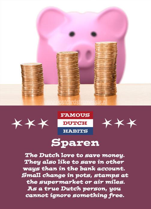 Famous Dutch Habits - Sparen