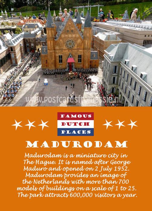 Famous Dutch Places - Madurodam