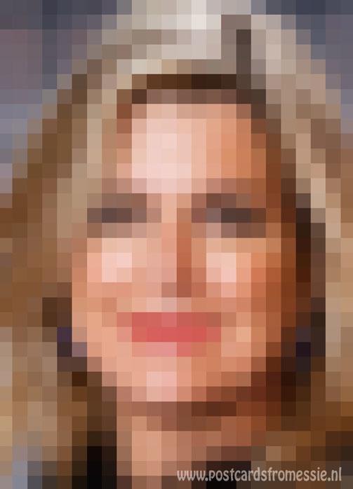 Pixel art - Koningin