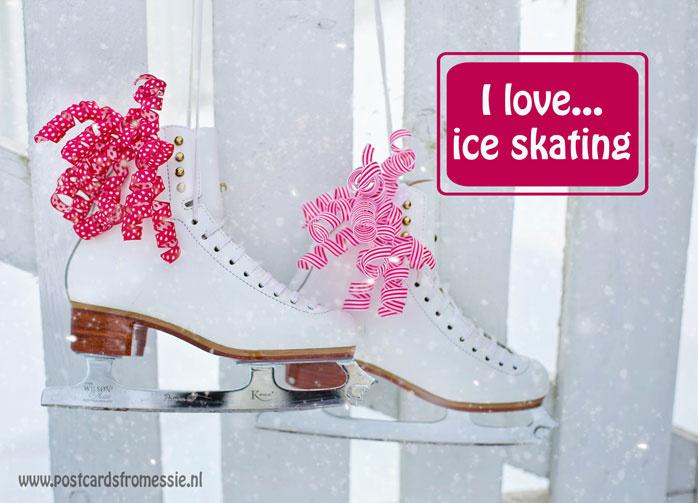 I love...ice skating