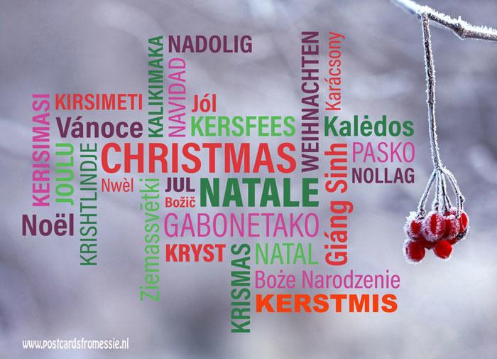 Kerstmis in 29 talen