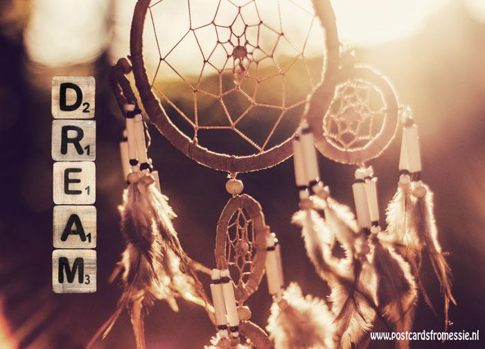 Ansichtkaart Dream