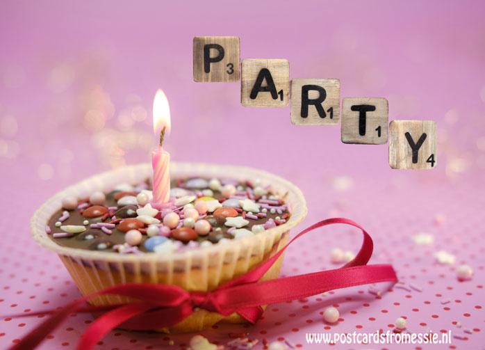 Ansichtkaart Party