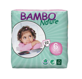 Bambo Nature luier maat 6 XL Plus
