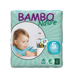 Bambo Nature luier maat 5 Junior