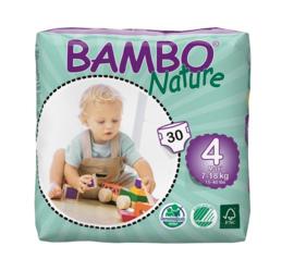 Bambo Nature luier maat 4 Maxi
