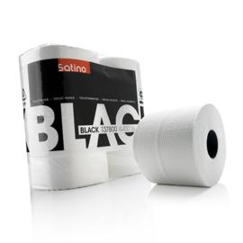 Satino Black Toiletpapier wit 2-Lgs - 4x400 vel, 40 rollen in een baal
