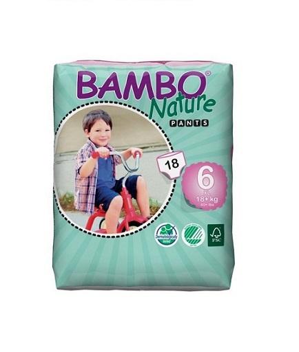 Bambo Nature Trainingsbroekje maat 6 XL