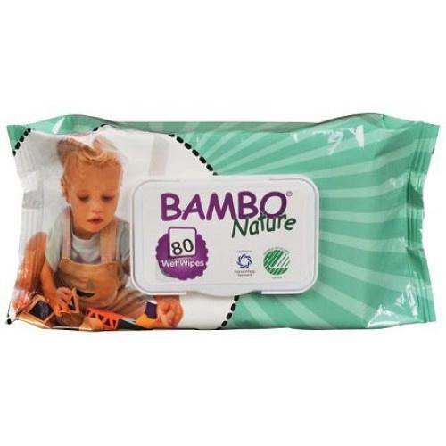 Bambo vochtige reinigings doekjes