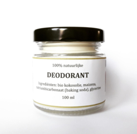 Deodorant crème 100 ml natural