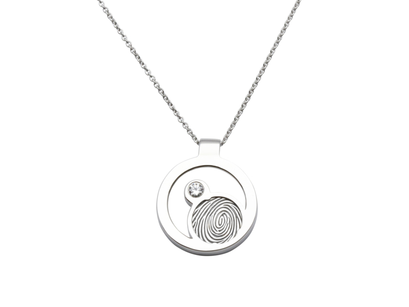 JASMINE silver with 1 cubic zirconia € 249,-