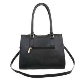 Prachtige zwart met witte damestas