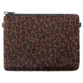 Prachtige tas met leopard print