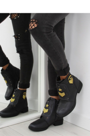 Militaire damesschoenen