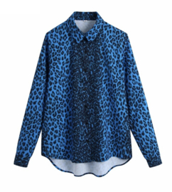 Prachtige blouse met panterprint
