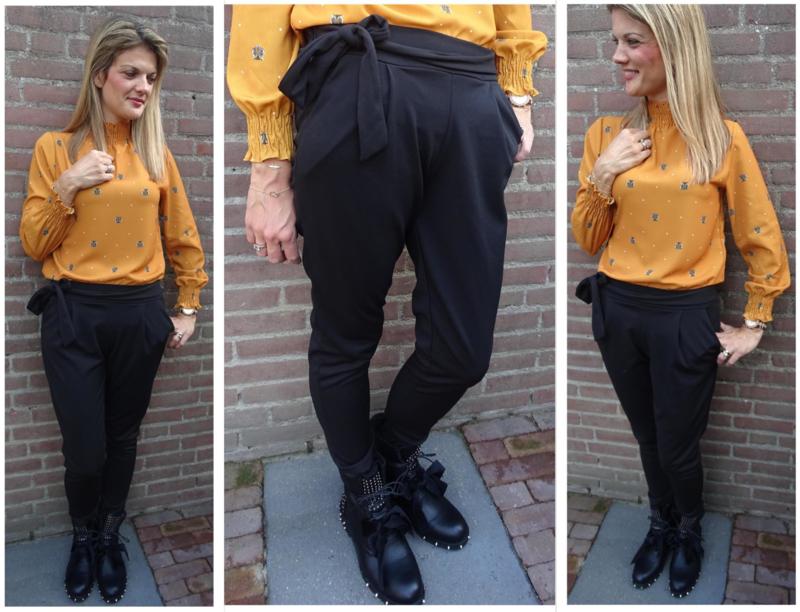 Prachtige zwarte pantalon