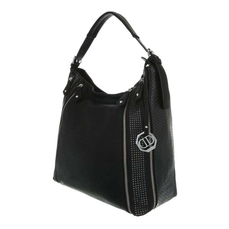 Stijlvolle en elegante zwarte damestas
