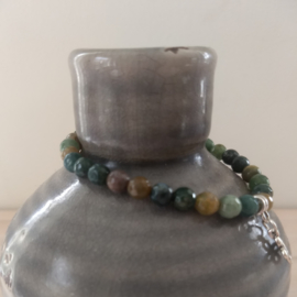 "Armband ""Indian Agate"""