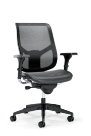 Prosedia Se7en Air bureaustoel zwart
