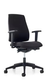 Prosedia Se7en Ergo 16G2 bureaustoel zwart