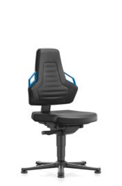 Bimos werkplaatsstoel Nexxit 1 9030 met glijders