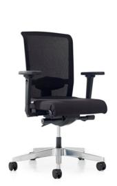 Prosedia Se7en Flex NPR Net bureaustoel zwart