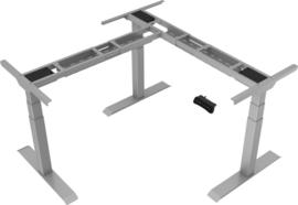 Bureau hoek onderstel zit/sta elektrisch verstelbaar Heavy grijs
