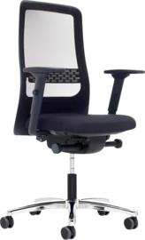 Prosedia W8RK Ergo F170V bureaustoel zwart