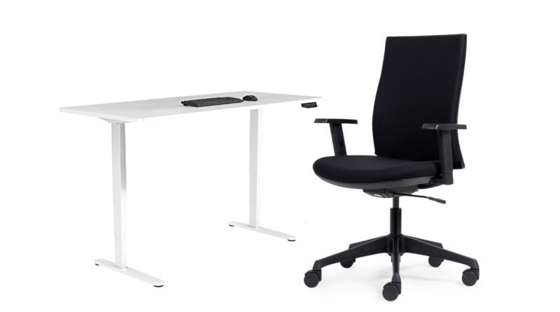 Een bureau volgens de Arbo regels