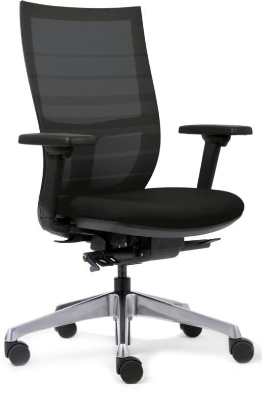In 8 stappen je bureaustoel goed instellen.