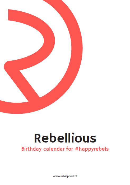 Rebellious Birthday Calendar