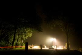 Bruggetje Westerdiep bij nacht