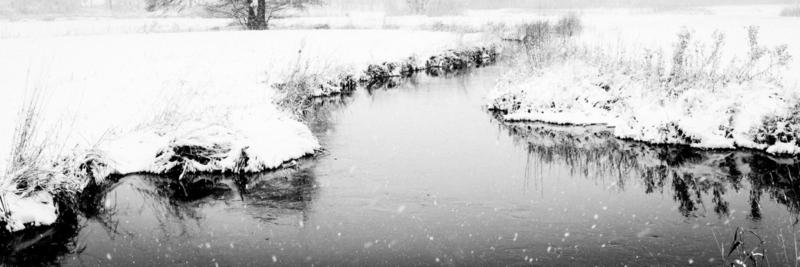 Tweediepskolk sneeuw