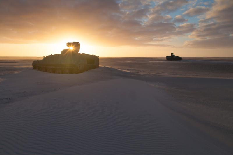 Tanks Vlieland Vliehors 2