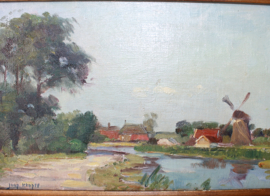 Joop Kropff (1892-1979), Hollands landschap