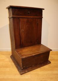 Antieke bidstoel