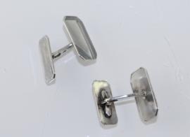Antieke zilveren Art Deco manchetknopen, Zoppi 1908-1909