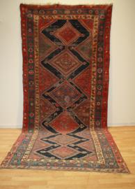 Antiek Perzisch kleed / loper Hamadam