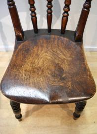 Set antieke Windsor stoelen