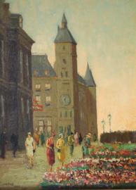 Joop Kropff (1892-1979) stadsgezicht Parijs 1926
