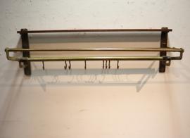 Art Deco koperen kapstok