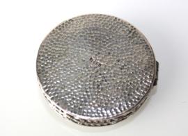 Zilveren Djokja pepermuntdoosje, tandendoosje
