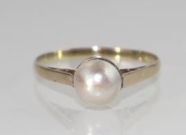 Gouden ring met parel, jaren '30