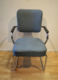 Vintage buisframe stoel schuitema